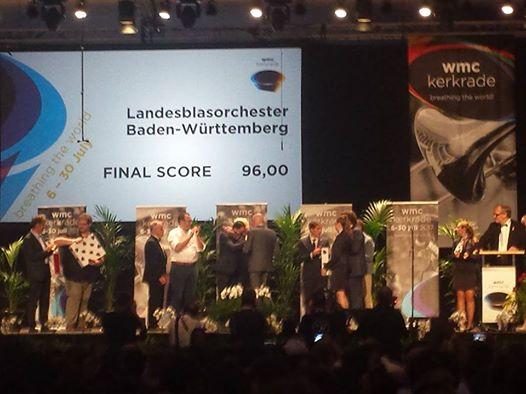 WMC 2017 Concertdivision – 96 punkte und Vizeweltmeister!